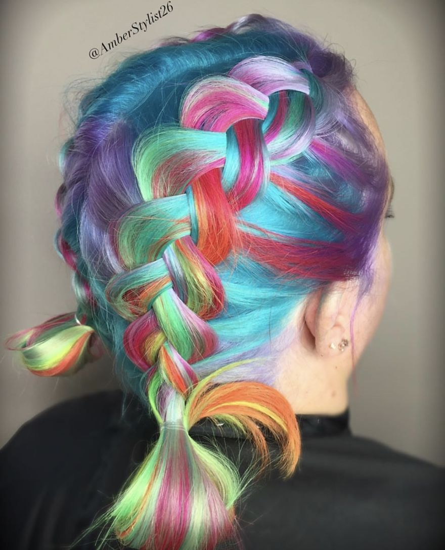 Love for colored hairsyles vhjhgj