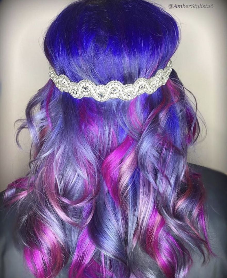 Love for colored hairsyles ytfytr