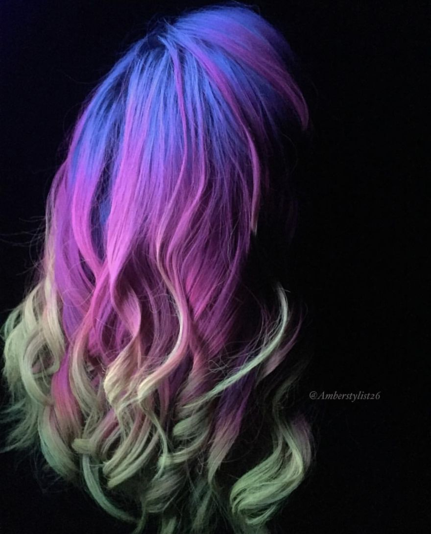 Love for colored hairsyles yuytu