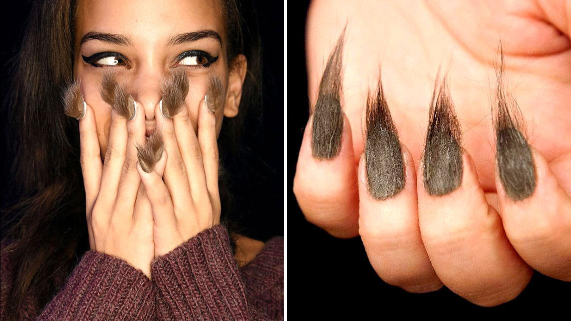 horrific transformaton of nails into claws