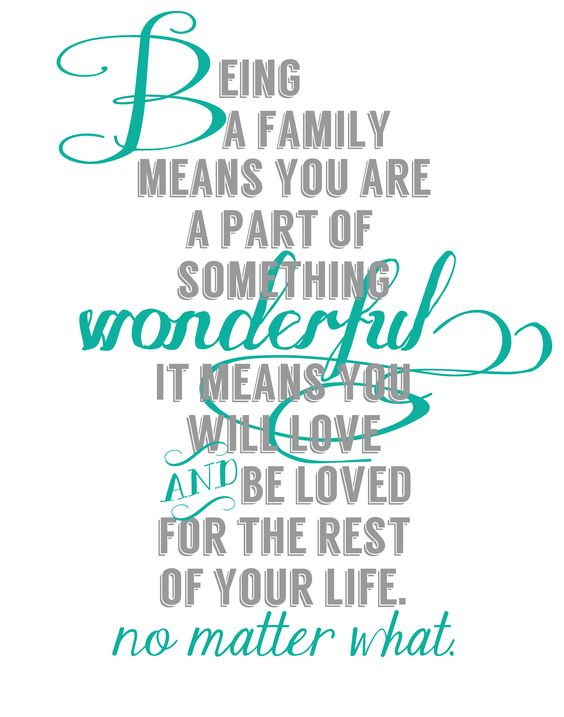 Inspirational Quotes About Love Of Family