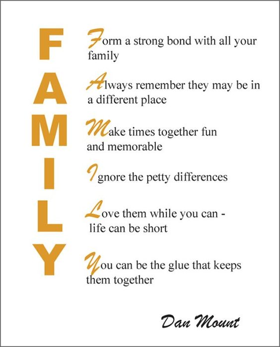 family quotes and photo ideas