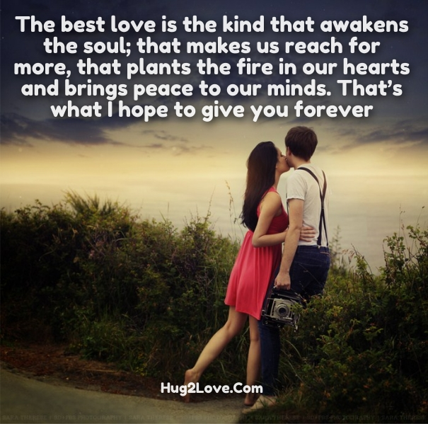 Extremely romantic quotes for her